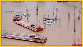 तस्वीरों में: महाराष्ट्र में भारी बारिश से बाढ़ के हालात, पानी बसों की छत तक पहुंचा
