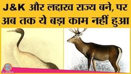 आर्टिकल 370 हटने के बाद जम्मू-कश्मीर और लद्दाख अब तक कोई राज्य पक्षी और जानवर क्यों नहीं बना पाए?