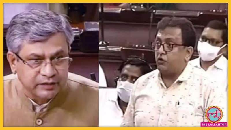 संसद में मंत्री के हाथ से पेपर छीनकर फाड़ने वाले TMC सांसद शांतनु सेन पर बड़ी कार्रवाई हो गई