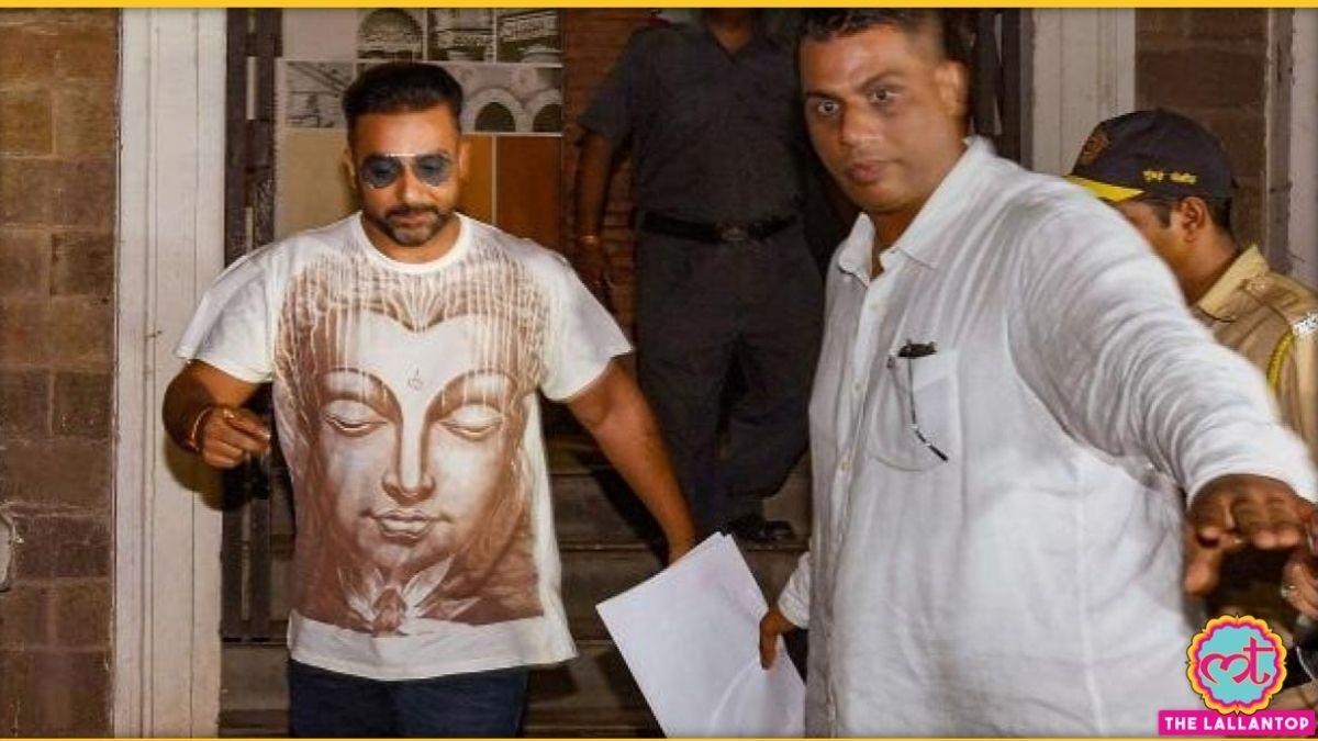ED ऑफिस से पूछताछ के बाद निकलते राज कुंद्रा. ये आज की नहीं पुरानी तस्वीर है.