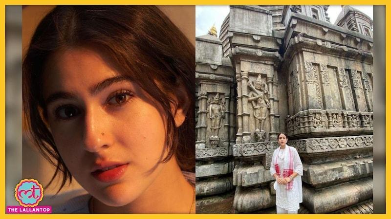 सारा अली खान ने मंदिर से फोटो शेयर की, लोगों ने कमेंट बॉक्स में ज़हर उगल दिया