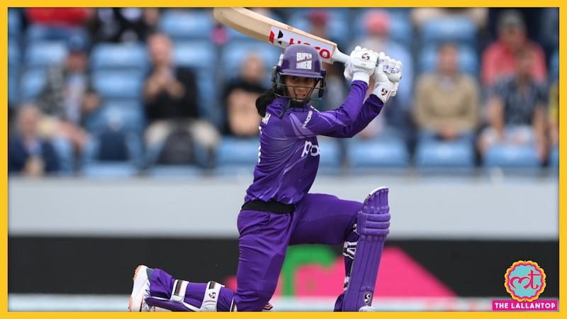 भारतीय महिला क्रिकेटर ने इंग्लैंड जाकर कमाल कर दिया!