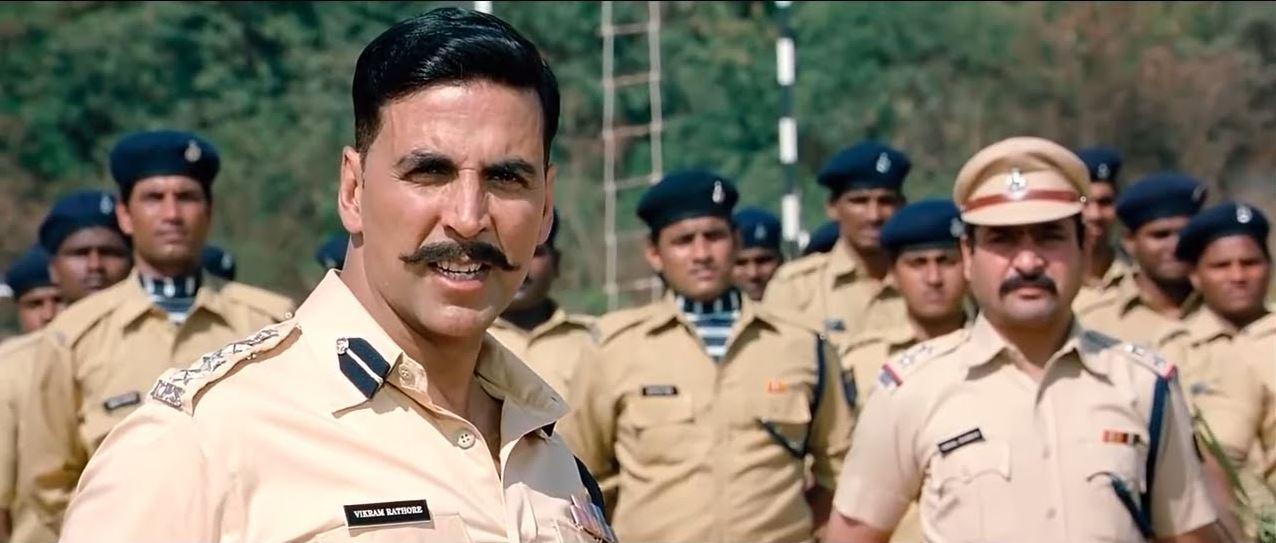 फिल्म राउडी राठौड़ के एक सीन में अक्षय कुमार. ये वही फिल्म है, जिसमें अक्षय जो बोलते हैं, वो करते हैं. मगर जो नहीं बोलते, वो डेफिनेटली करते हैं.