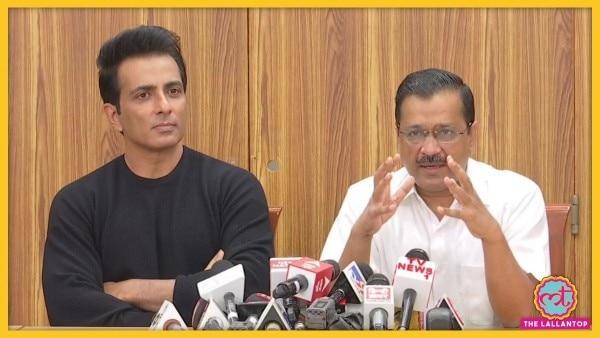 एक्टर सोनू सूद को सीएम अरविंद केजरीवाल ने 'देश के मेंटॉर' योजना का ब्रैंड एंबेस्डर बनाने की घोषणा की थी.