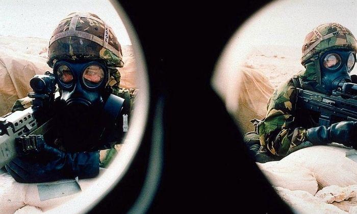 खाड़ी युद्ध में अमेरिकी सेना (AFP)