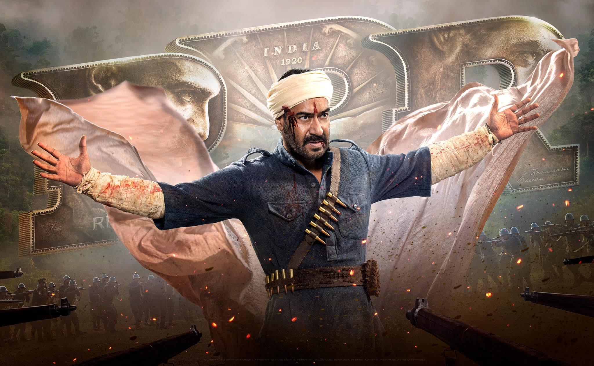 फिल्म 'RRR' में अजय देवगन इसी लुक में नज़र आएंगे. हालांकि फिल्म में उनका रोल क्या होने वाला है, इस पर क्लैरिटी नहीं है.