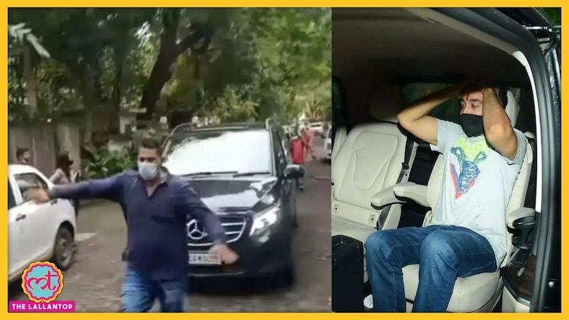 राज कुंद्रा की गाड़ी के आगे भागते इस आदमी के क्यों चर्चे हो रहे हैं?