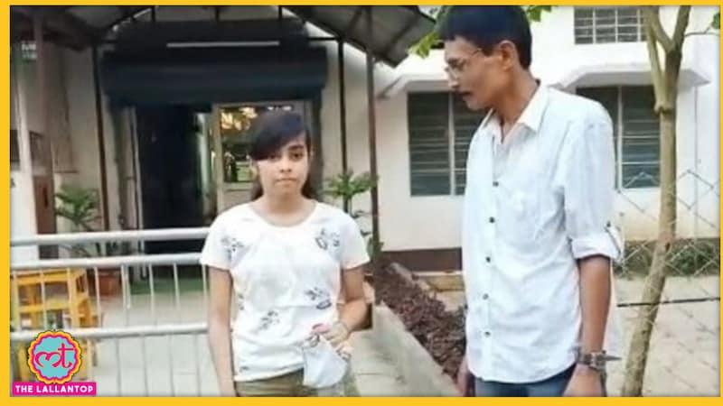 असमः शॉर्ट्स पहनकर आई लड़की को पर्दा लपेटकर देना पड़ा यूनिवर्सिटी का एंट्रेंस एग्ज़ाम