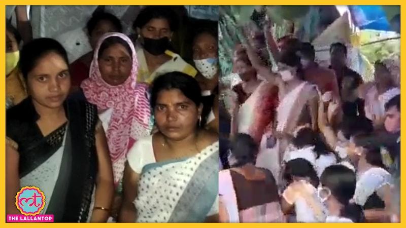भूखे बच्चों को अकेला छोड़ नौकरी के लिए प्रोटेस्ट कर रहीं विधवा औरतें आत्मदाह करने पर मजबूर!