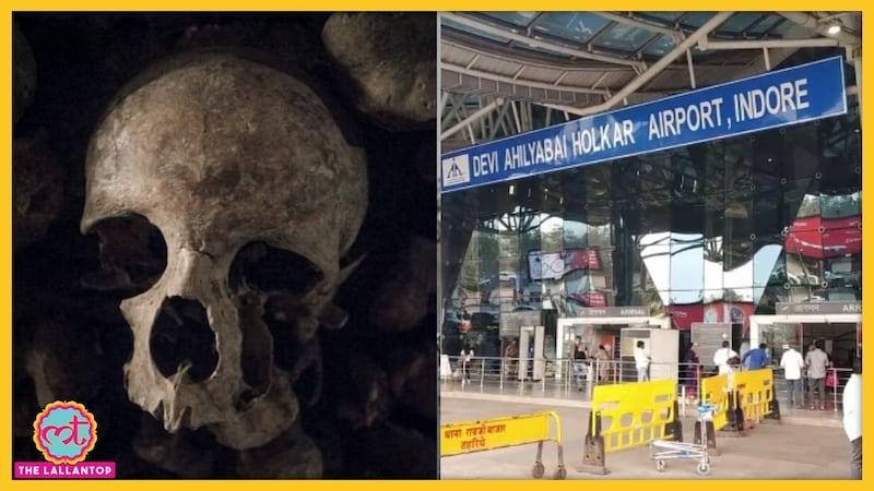 इंदौर एयरपोर्ट पर ये कौन साध्वी थी जो बैग में मानव खोपड़ी ले जा रही थी?
