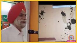 किसानों को डंडे से मारने की बात कही थी, BJP नेता का घर गोबर से पोत दिया गया, पार्टी ने पल्ला झाड़ा
