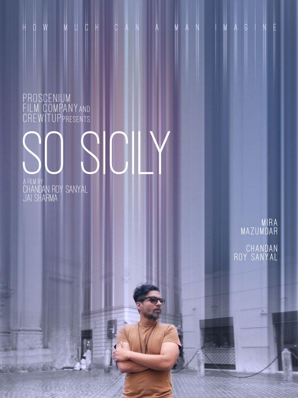 चंदन रॉय सान्याल की फिल्म 'सो सिसिली' का पोस्टर.