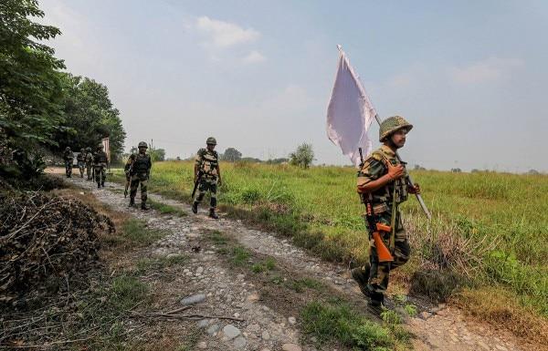Bsf Patrolling In Jammu