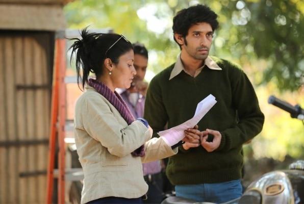 डायरेक्टर कोंकणा सेन शर्मा विथ विक्रांत मेसी (शुटु)