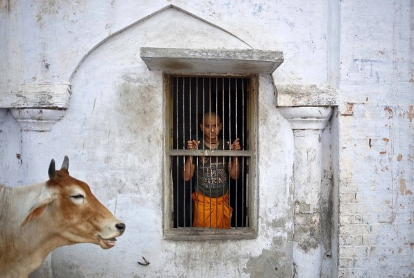 अयोध्या की तस्वीर. Photo: Reuters