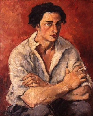 Portrait of a young man 1930