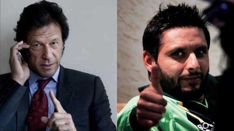 PSL:  पेशावर के लिए 'जाल्मी' बन गए इमरान खान, अफरीदी