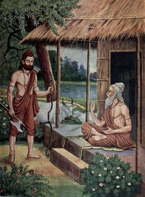 जब परशुराम ने काटे अर्जुन के हाथ