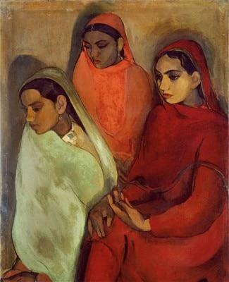 Three girls 1937