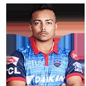 Prithvi Shaw(Batsman)