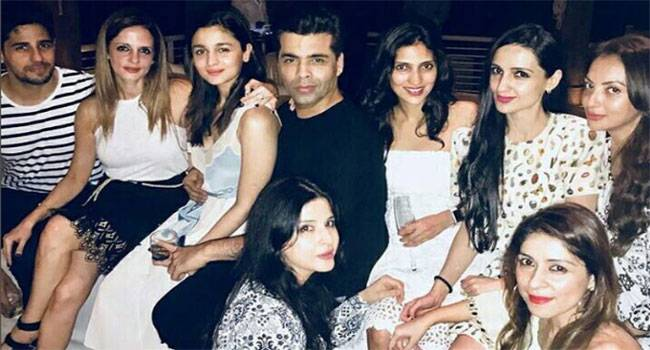 Karan Johar is one of the most enthusiastic person in the whole guest list