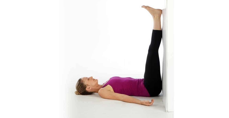 Viparita Karani (Legs-up-the-Wall Pose)