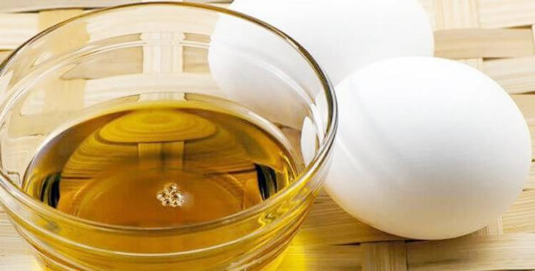 Benefits of egg oil for skin, hair and nail care!