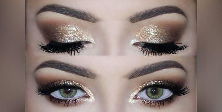 Get gold smokey eyes in 7 simple steps!
