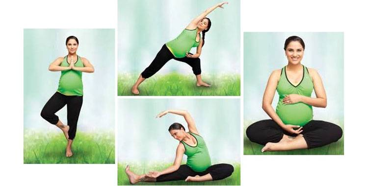 Practicing yoga in pregnancy can be beneficial