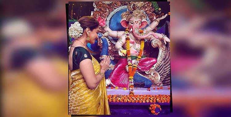 Ganesh Chaturthi 2018: A look at how Bollywood celebrities welcome Ganpati Bappa