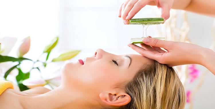 5 ways to apply Aloe vera gel on face!
