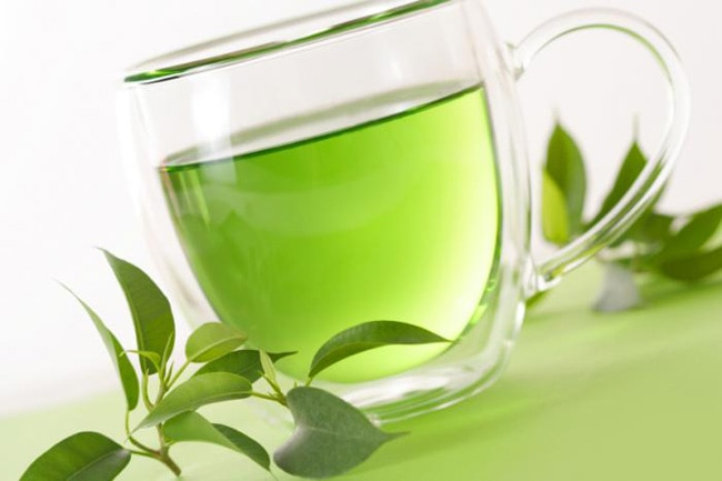 green tea for long eye lashes