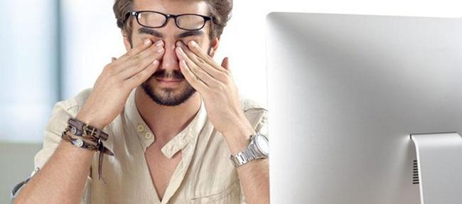 ghee decreases tiredness of eyes