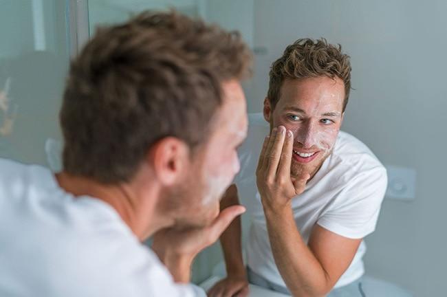 Exfoliate your skin with a scrub