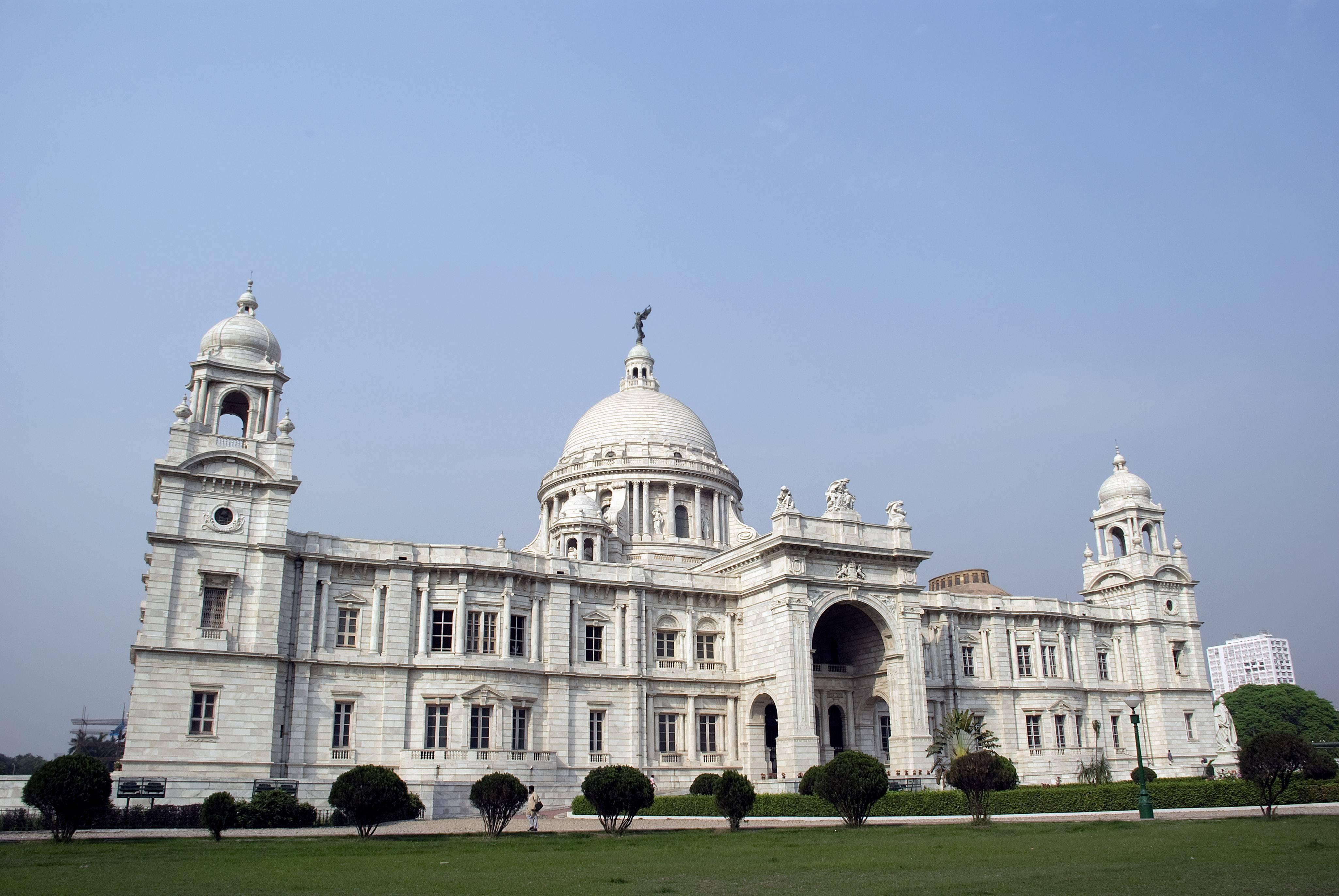 विक्टोरिया मेमोरियल. कोलकाता. वेस्ट बंगाल. फोटो: Getty Images