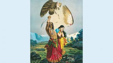 Raja Ravi Varma's Dramatic Lithographs