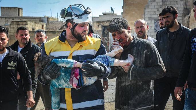 Rescuing Syria's Saviours
