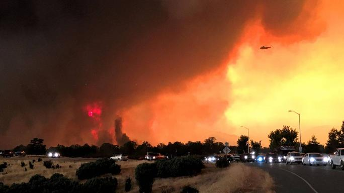 150 Minutes Of Hell: A Freak Fire Tornado Lays Waste To The Californian Landscape