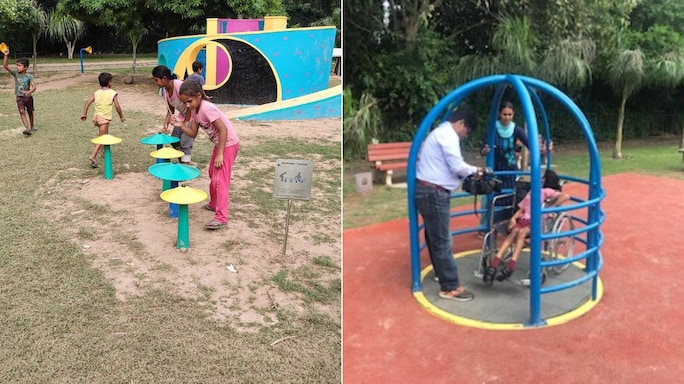 #GoodNews| A First-Of-Its Kind Park For The Differently-Abled In Panchkula