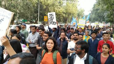 Why Are India's College Campuses Erupting In Protest?