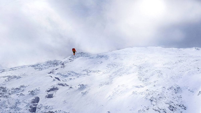 An Experienced Hiker Makes An Unexpected Rescue On A Stormy, Treacherous Mountainside