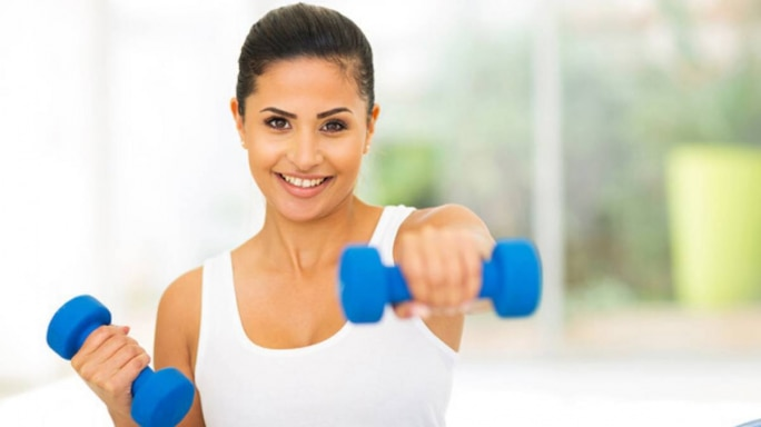 Dumbbell Your Way To Fitness