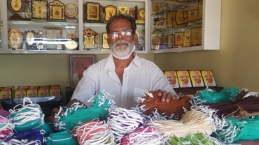 Lockdown Heroes: 70-Year-Old On A Mission To Distribute Masks In His Village