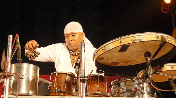 The Wondrous Beats Of Sivamani's Drums