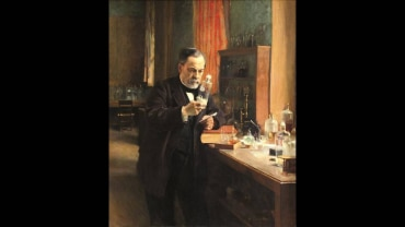 A Lifelike Portrait Of Louis Pasteur