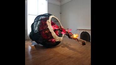 Decoding Artist Rina Banerjee's Dark Message In The World As Burnt Fruit