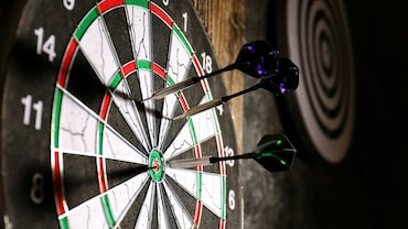 A Game of Darts: Once Played Only For Fun At English Inns, It Is A Global Sport Now