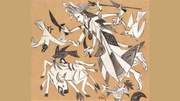 K. G. Subramanyan's Evocation Of The Festive Season