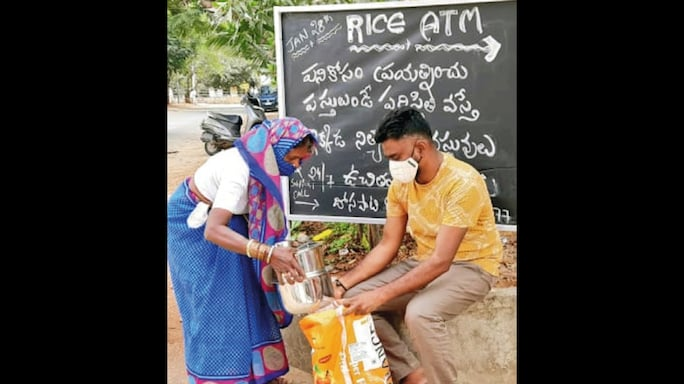 Good News: A Rice ATM for Needy Folk, New Hope for Recycling Plastic and Little Homes for India's Strays