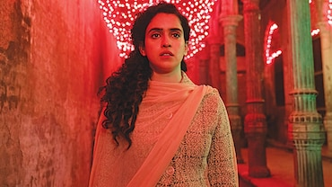 Sanya Malhotra in a still from Pagglait